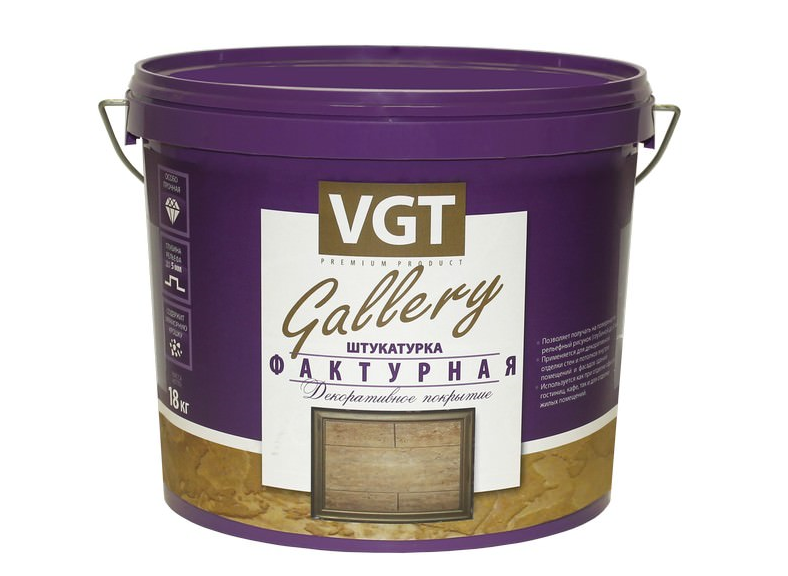 Штукатурка фактурная VGT (ВГТ)