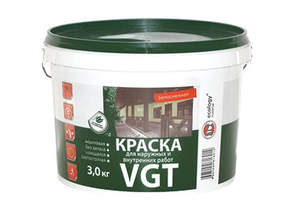 Краска ВД-АК-1180 для наружных и внутренних работ «Белоснежная»