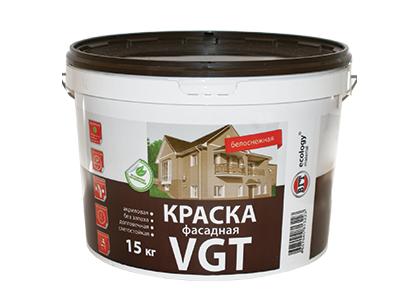 Краска VGT ВД-АК-1180 фасадная «Белоснежная»