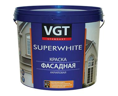Краска ВД-АК-1180 фасадная База С ВГТ