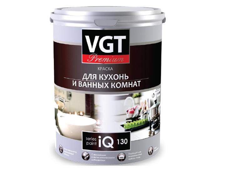 Краска для кухонь и ванных комнат iQ130 с восковыми добавками