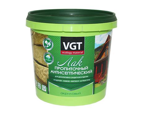 Лак акриловый пропиточный антисептический с биозащитой VGT (ВГТ)