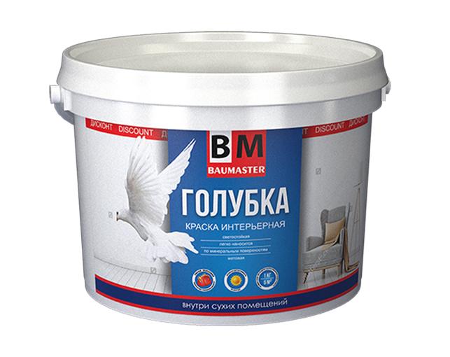 Краска BAUMASTER ГОЛУБКА для потолков