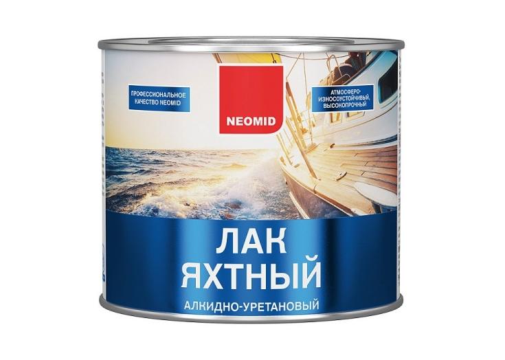 Лак яхтный алкидно-уретановый Yacht Neomid
