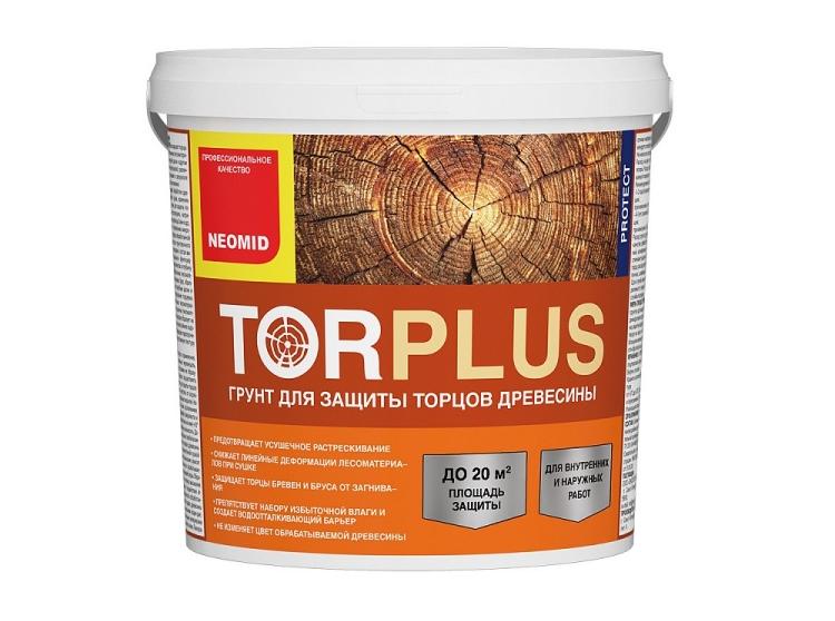 Состав для защиты торцов древесины NEOMID TOR PLUS