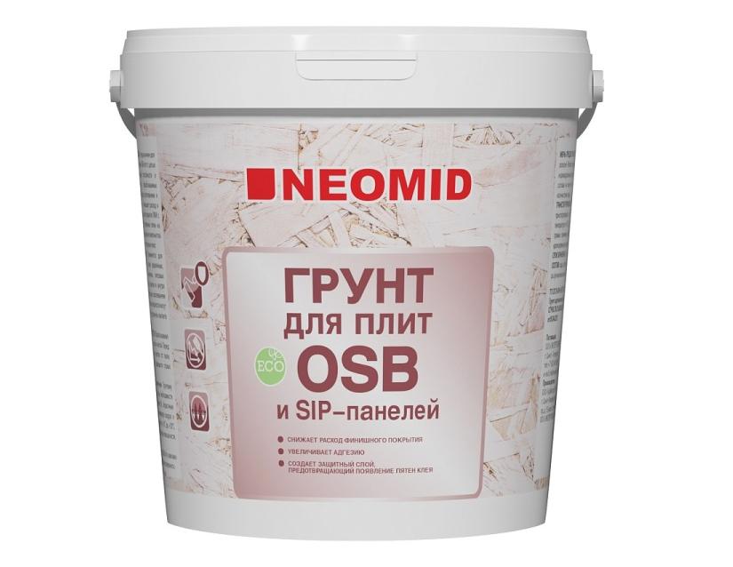 Грунтовка NEOMID для плит OSB