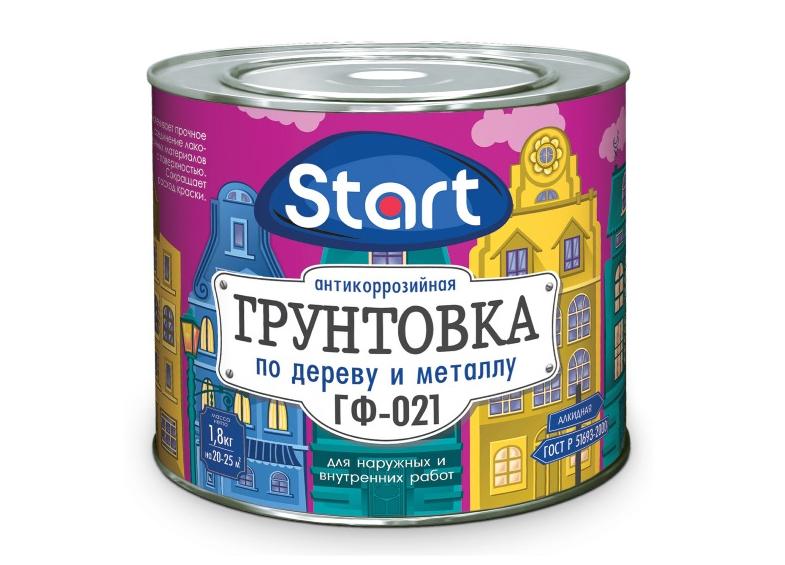 Грунтовка ГФ-021 Start антикоррозийная