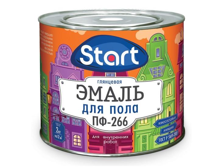 Эмаль для пола ПФ-266 «START»