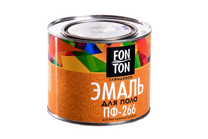 Эмаль ПФ-266 FonTon