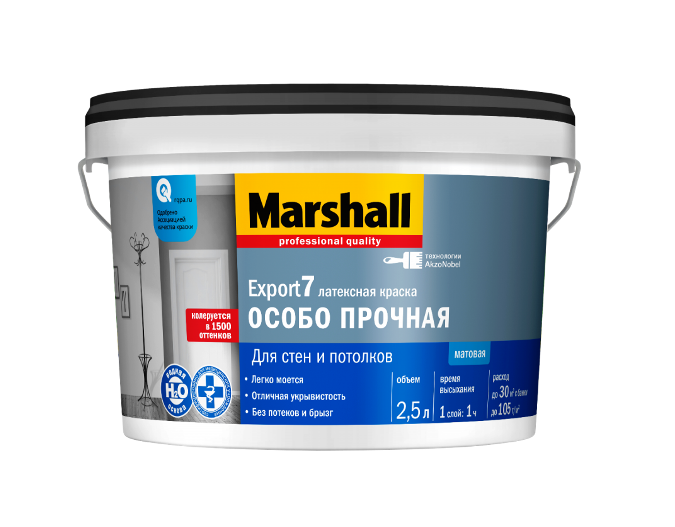 Краска MARSHALL EXPORT-7 латексная